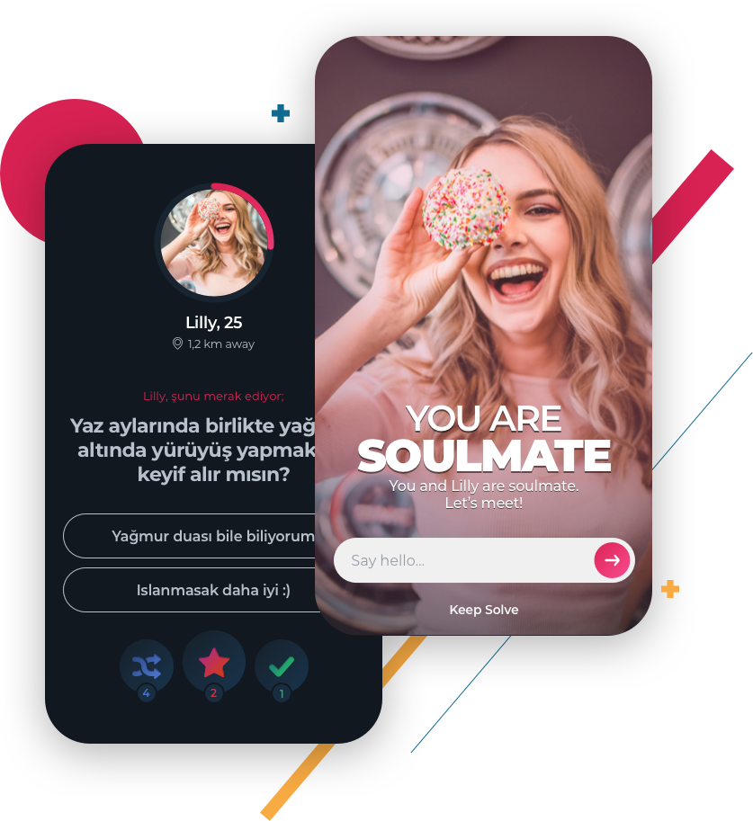solvemate match screen